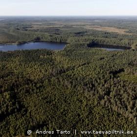 Põhja-Kõrvemaa metsad ja rabajärved.