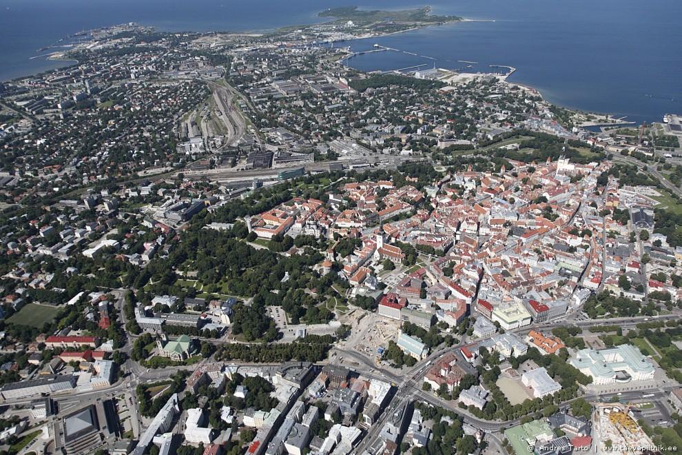 Merelinn Tallinn kõrgemalt