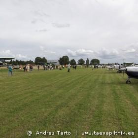 Vaade Kuusiku lennuväljale. Kõrvalseisja pilguga