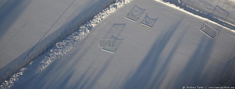 Väravatesadu lumel